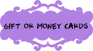 GIFTING or money cards