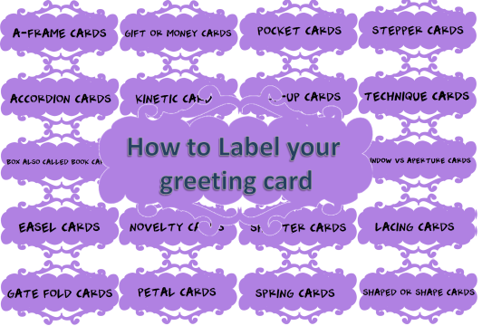 How to Label Your Greeting Card